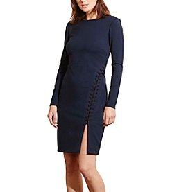 Lauren Ralph Lauren® Lace-Up Ponte Dress