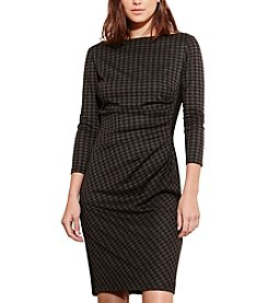 Lauren Ralph Lauren® Houndstooth Ponte Dress