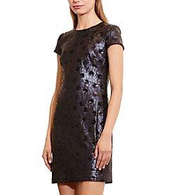 Lauren Ralph Lauren® Polka-Dot Sequined Dress