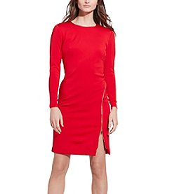 Ralph Lauren® Zip-Detail Sheath Dress