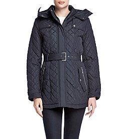 Tommy Hilfiger® Belted Quilt Jacket