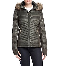 MICHAEL Michael Kors® Softshell Side Down Jacket