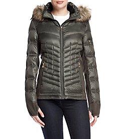 MICHAEL Michael Kors® Softshell Side Down Jacket