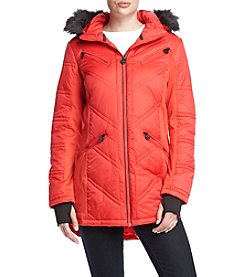 MICHAEL Michael Kors® Hooded Contrast Coat