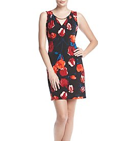 Ivanka Trump® Floral Jersey Dress