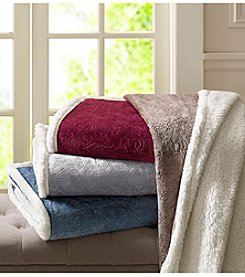 Madison Park™ Elma Oversized Plush Throw