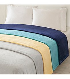 Intelligent Design MicroLight Plush Brushed Blanket