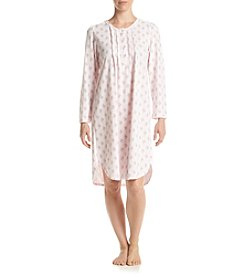 Miss Elaine® Honeycomb Knit Nightgown