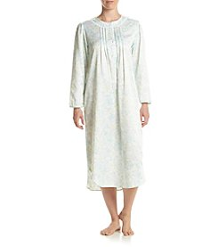 Miss Elaine® Long Satin Nightgown