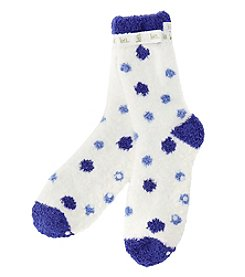 KN Karen Neuburger Printed Slipper Socks With Grippers