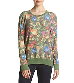 Eyeshadow® Allover Lights Brushed Holiday Pullover Sweatshirt
