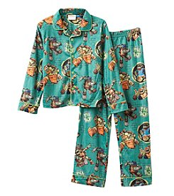Teenage Mutant Ninja Turtles Boys' 4-10 2-Piece Good Guy Turtles Pajama Set