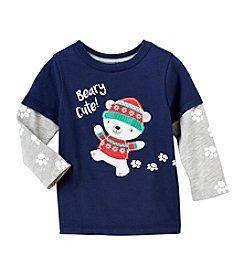 Mix & Match Baby Boys' Long Sleeve Beary Cute Tee