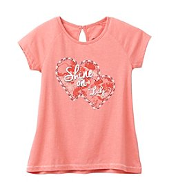Lucky Brand® Girls' 7-16 Short Sleeve Shine On Tee