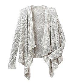 Lucky Brand® Girls' 7-16 Long Sleeve Open Stitch Cozy