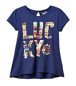 Lucky Brand® Girls' 7-16 Short Sleeve Lucky Tee