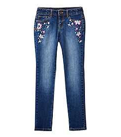 Lucky Brand® Girls' 7-16 Zoe Floral Embroidered Jeans