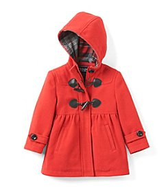 Chaps® Girls' 2T-6X Hooded Toggle Jacket