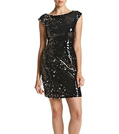 Speechless® Allover Black Sequin Dress
