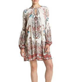 Skylar & Jade™ Floral Woven Peasant Dress