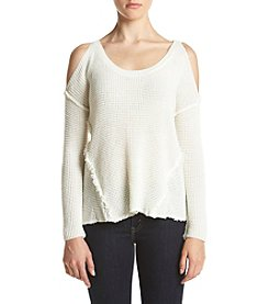 Skylar & Jade™ Cold Shoulder Pullover Sweater