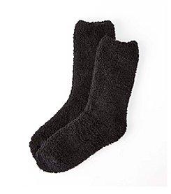 Relativity® Solid Slipper Socks