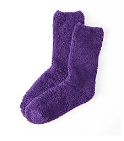 Relativity® Solid Slipper Socks
