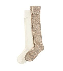 Relativity® Sweater Knit Knee High Socks