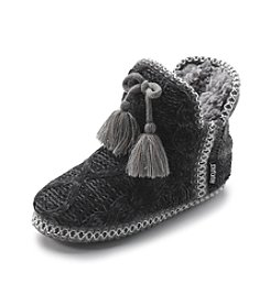 MUK LUKS Cable Ombre Marled Slippers