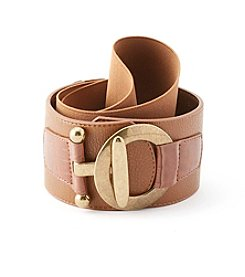 Fashion Focus Circle Interlink Stretch Belt