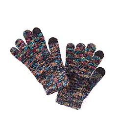 Steve Madden Space Dye Full Hand Touch Gloves