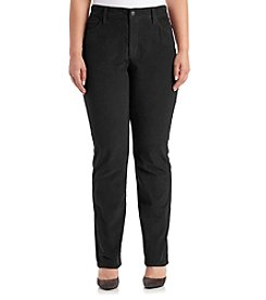 NYDJ® Plus Size Marilyn Straight Corduroy Pants
