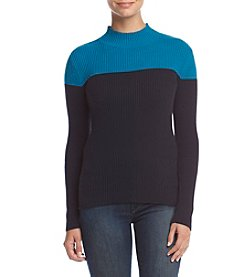 Studio Works® Ribbed Mock Neck