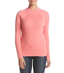 Studio Works® Ribbed Mock Neck Sweater