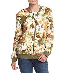 Alfred Dunner® Cactus Ranch Floral Bomber Jacket