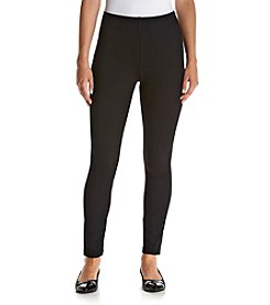 Laura Ashley® Petites' Pull-On Ponte Leggings