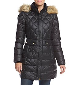 Jones New York® Princess Seamed Puffer Coat