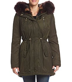 Betsey Johnson® Color Spillout Anorak
