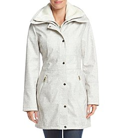 Jessica Simpson Faux Fur Collar Softshell Coat