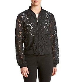 Fever™ Lace Bomber Jacket