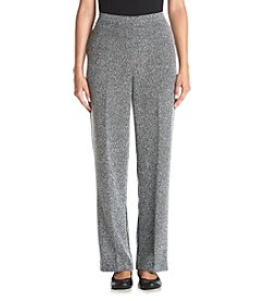 Alfred Dunner® Petites' Wrap It Up Proportioned Herringbone Short Pants