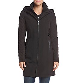 MICHAEL Michael Kors® Mixed Media Coat