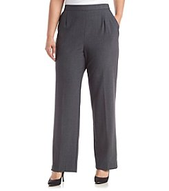 Studio Works® Plus Size Solid Pull On Pants