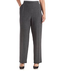 Studio Works® Plus Size Striped Pull On Pants