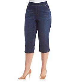 Gloria Vanderbilt® Plus Size Avery Pull On Capri