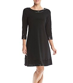 Prelude® Long Sleeve Trapeze Dress