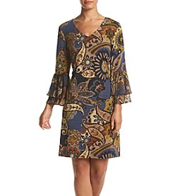 Prelude® Printed Peasant Dress