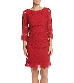 Jessica Howard® 3/4 Sleeve Lace Dress