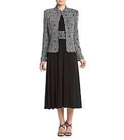 Jessica Howard® Long Sleeve Sparkle Jacket Dress