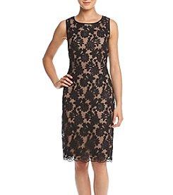 Ivanka Trump® Lace Sheath Dress